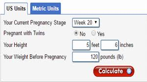 Qualified Healthy Pregnancy Weight Gain Chart Twin Fetus