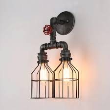 fashion style silver wall sconces