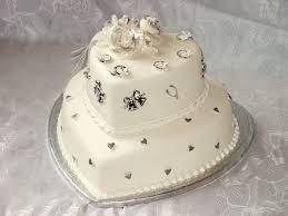 Cake Desserts Simple Wedding Cake Decorating White Designs