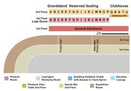 Keeneland Tickets In Lexington Kentucky Keeneland Seating