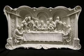 last supper sculpture wall art