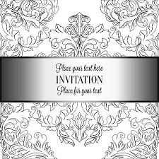 black and white vintage floral wallpaper. Simple White Baroque Background With Antique Luxury Black And White Vintage Frame  Victorian Banner Damask In Black And White Vintage Floral Wallpaper A