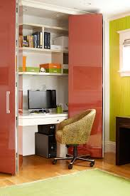 small office space home office contemporary interior designs with photo storage red doors amazing small office
