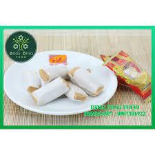 1Kg ] Kẹo bơ sữa đậu phộng cao cấp ( Kẹo kéo hay kẹo dồi lạc vừng ) Tân Huê  Viên - DING DING FOOD