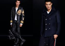 h m balmain balmaination collection lookbook mens