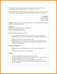 Resume Format Hotel Management Luxury Housekeeper Resume Format