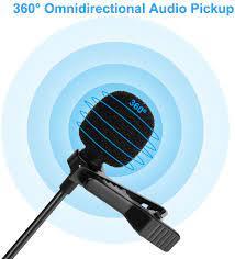 kompatibel mit Laptop Remote-Arbeit Streaming Podcasting PC und Mac Skype  Reversmikrofon Desktop perfekt für Videoaufnahmen LamrTek USB-Lavalier- Mikrofon Kameras omnidirektionales Mikrofon Audio & Video Zubehör com PC- Mikrofone