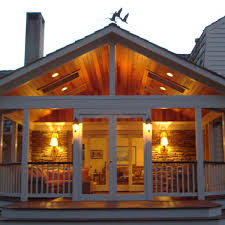 the screened porch that thinks it an outdoor lodge resort design ideas archadeck