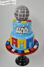 Star Wars Lego Decorations Lego Star Wars Cakes Jpg Birthdays Pinterest Cakes Lego