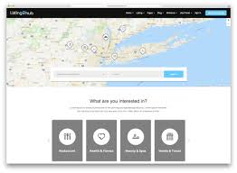 Listing Template 23 Top Responsive Directory Website Templates 2018 Colorlib