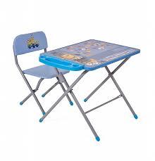 <b>Комплект детской</b> мебели <b>Polini</b> kids 203 Гадкий я, голубой купить ...