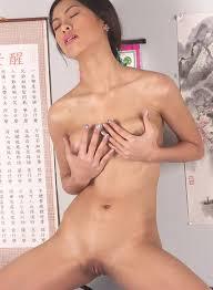 Asian Girl Rubbing Pussy