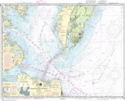 Online Chesapeake Bay Charts Nautical Charts Online Noaa Nautical Chart 12221