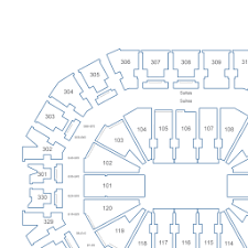 Kfc Yum Center Interactive Seating Chart