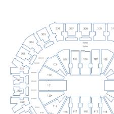 Yum Center Detailed Seating Chart Kfc Yum Center Interactive Seating Chart