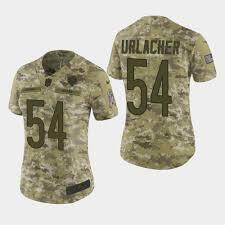 Chicago 54 Salute Bears To - Urlacher Elite Camo 2018 Service Jersey Brian Women's Massive Sale Green Bay Packers Draft 3930 Hat Multi