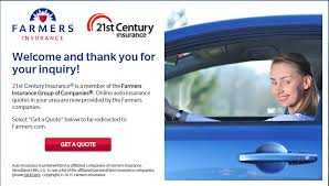 21st century auto insurance quote step 2