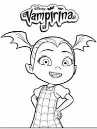 Vampirina Kleurplaten Topkleurplaatnl