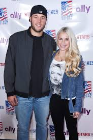 And his wife blames the nfl. Matthew Stafford S Wife Kelly Details Recovery From Brain Tumor People Com