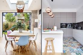 A Modern Kitchen Decor with Copper Lamps and Vintage Details copper lamps A  Modern Kitchen Decor