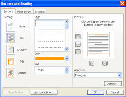 Small Picture Change Page Border Color In Word 2003 Microsoft Office Support