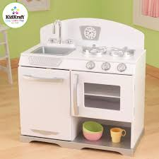Kid Craft Retro Kitchen White Retro Stove 53234
