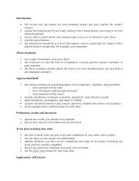 Sample Project Proposal Format New Outline Template Word Pro