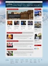 Newspaper Psd Template Download Free Newspaper Website Design Templates 108 Best Free Website