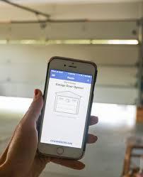 garage door remote appChamberlain MyQ Garage Door Opener Review  Sincerely Sara D