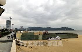 Bình Định yêu cầu tháo dỡ công trình không phép trên bãi biển Quy Nhơn