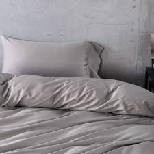 egyptian cotton bedding set gray grey gris color font b duvet b font font b