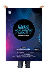 Free Flyer Template Download Edm Party Free Club Psd Flyer Template Downloadnow