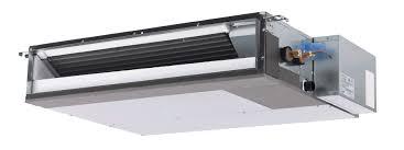 mitsubishi ducted heat pump.  Mitsubishi 12K BTU Mitsubishi SEZKD Horizontal Ducted Heat Pump Indoor Unit In AC4Life
