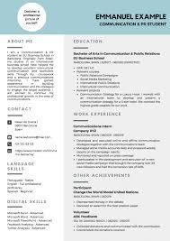 Cv Exemplars Curriculum Vitae Writing Tips With Examples Eu Business