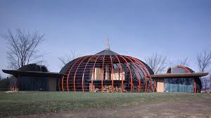 Image Aluminum Goff Modeled The Birdcagelike Home After Traditional Tibetan Nomad Tent Eliot Elisofonthe Life Picture Collectiongetty Images Pinterest Bruce Goff Organic Architecture And Folk Art Fantasies Curbed