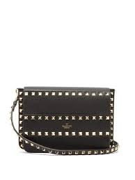 valentino rockstud leather cross bag
