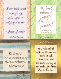 Free Printable Quotes To Inspire Kindness Lunch Notes For Kids