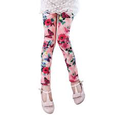 Lee Pants Size Chart Amazon Com Evelin Lee Kids Girls Floral Printed Leggings