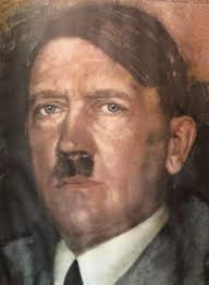 Image result for holocaust museum hitler portrait