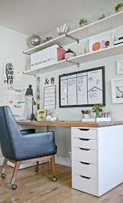 decorating small office space. Style At Home With Heather Freeman Decorating Small Office Space F