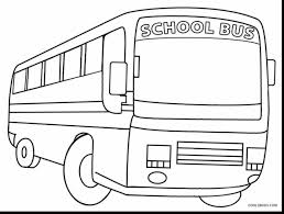Bus line drawing