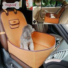 Luxury Pet Front or Back Car Seat Cover Protector 2 in 1 Dog