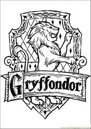 Hope you enjoyed these free printable harry potter coloring pages. Free Printable Coloring Image Gryffondor Harry Potter Colors Harry Potter Printables Harry Potter Coloring Pages