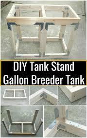 diy tank stand