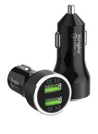 Ringke REAL X2 <b>Quick Charge 3.0 Dual</b> Port Car Charger for ...