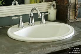 Concrete Sink Diy Bathroom Design Ideas Bathroom Extra Extensive White Concrete Diy