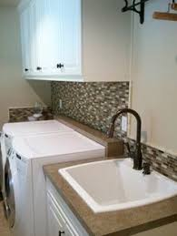 utility sink with countertop. Modren Utility I Like The Way This Integrates Washer And Dryer Even Without  Countertop Over Which Wonu0027t Work For Us Contemporary Laundry Room With Sterling White  To Utility Sink With Countertop