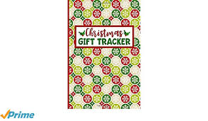 Gift Tracker Christmas Gift Tracker Holiday Shopping List Organizer For Managing