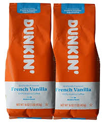 Prefer to grind your own coffee beans? Amazon Com Dunkin Donuts Ground Coffee 1 Lb Bag Multi Pack French Vanilla Two Pack Grocery Gourmet Food