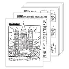 April 2019 General Conference Coloring Pages Pdf Download